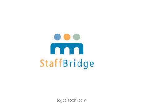 StaffBridge三人行LOGO