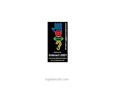 Interact2001面部整形博览会标志